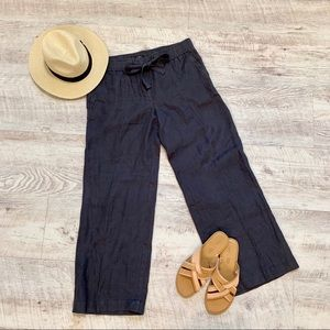 🆕 LOFT Marisa Wide Leg Linen Beach Pants